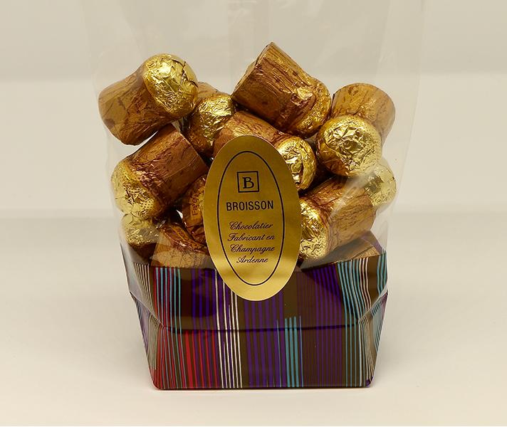 e9dce5e62bcf2 Bouchons chocolat à la liqueur de marc de champagne - Sachet 250g ...